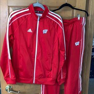 Wisconsin Adidas Jumpsuit